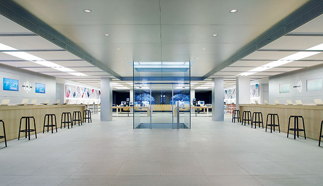 Journey into retail space the new economy for Retail space design