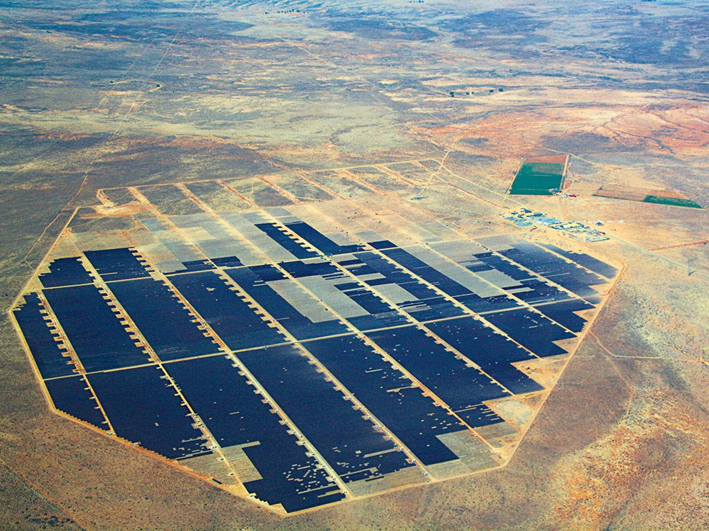 ... Energy Group's solar developments in South Africa, 'De Aar solar farm