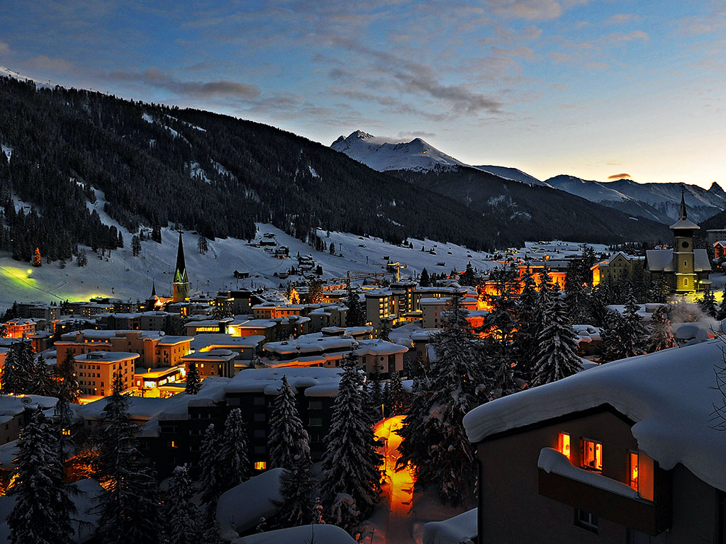 Switzerland's Davos provides a scenic and inspiring backdrop for each annual meeting the WEF holds