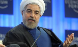Iran's President Hassan Rouhani spoke at the WEF meeting in Davos today about his desire for Iran to improve its relationship with the rest of the world