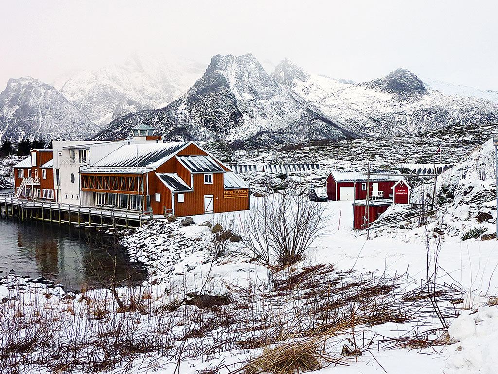 Norway's Arctic archipelago Lofoten. Looking for oil outside your front door may sound exciting, but in Lofoten, one of Norway's best fishing areas, the prospect of black gold has sparked heated debate