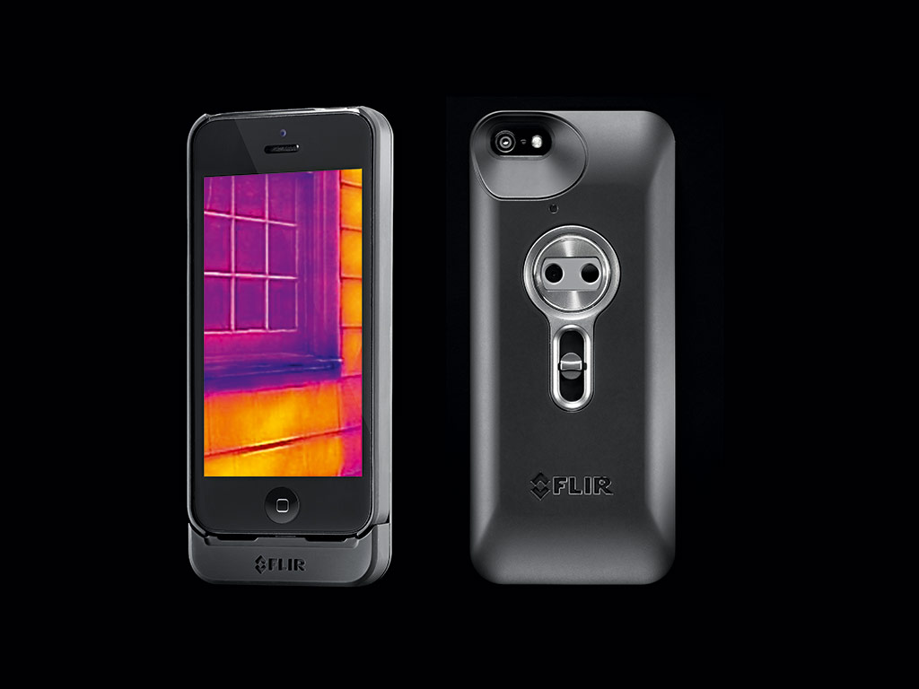 The FLIR ONE is the first personal thermal imaging device for a smartphone. Applications such as this help to make thermal imaging technology available to the everyday user
