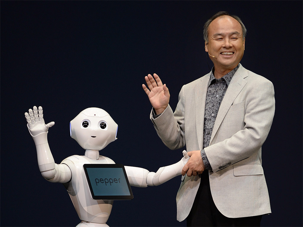 Softbank S Human Like Robot Pepper Will Transform History Says Ceo
