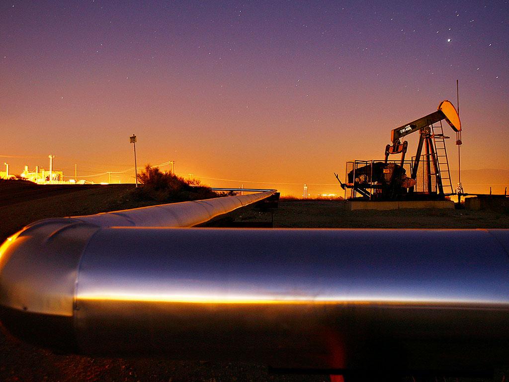 Oil pump in Taft, California