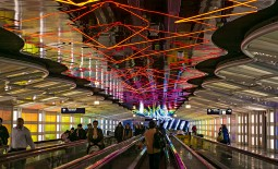The world's airports are becoming more sustainable, with quieter aeroplanes, greener passenger transport and less light pollution