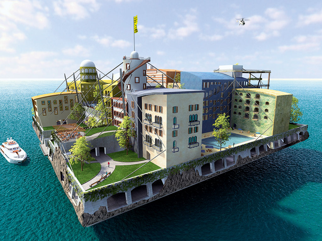 Could a future of floating cities be closer than we think for Building a floating home