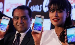 Samsung has been ousted as the largest seller of smartphones in India by domestic vendor Micromax for the first time