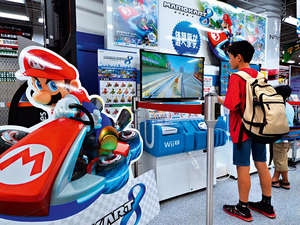 Exhibition Stand Game : Can nintendo get its mojo back the new economy
