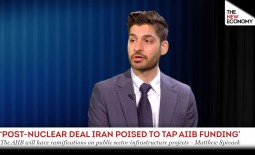 Market analyst says the Asian Infrastructure Investment Bank could be among the most prominent emerging market banks to gain from an Iran nuclear deal