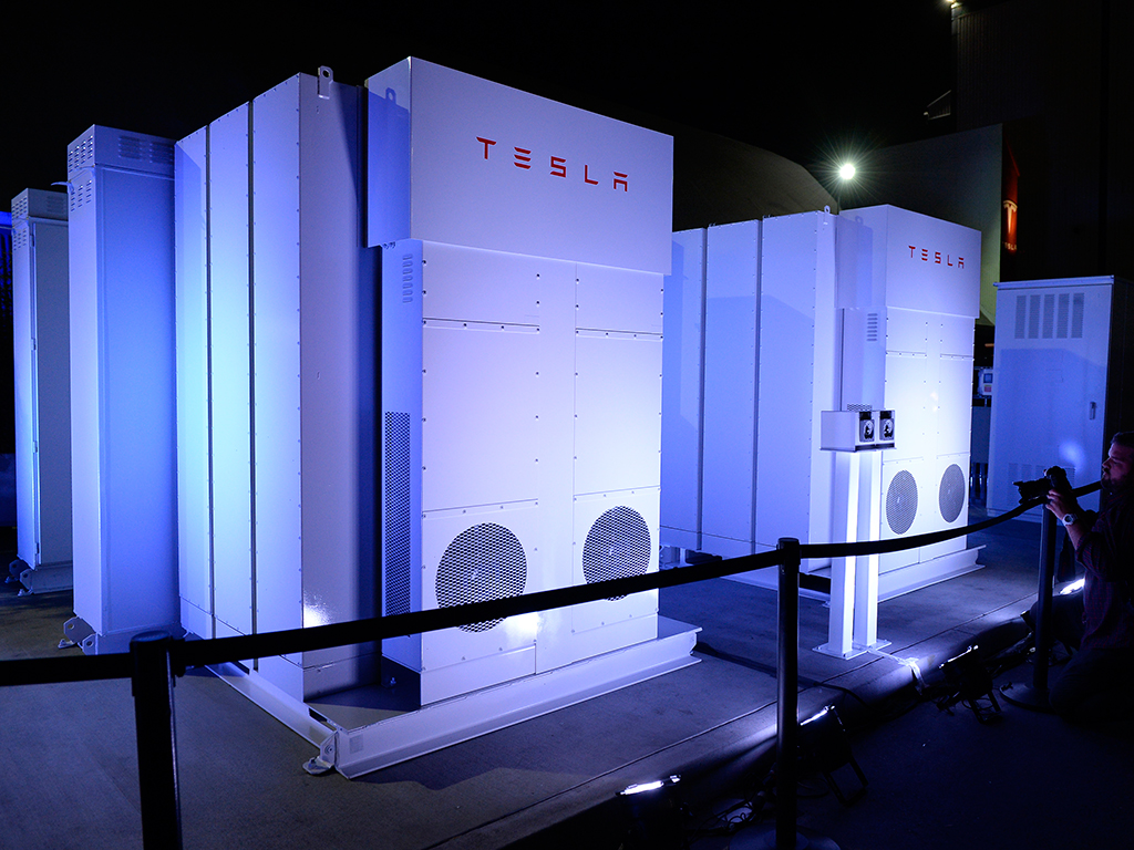 Tesla Puts A Spark To Energy Storage The New Economy