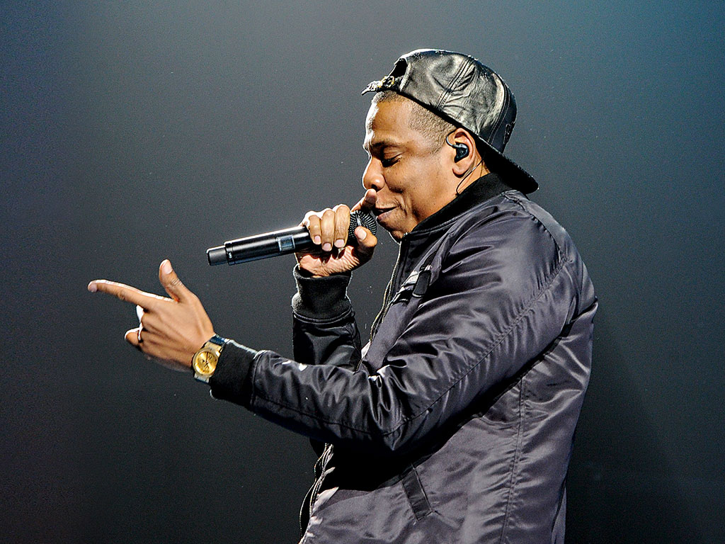 Jay Z is among the recording artists with stakes in the Tidal streaming service
