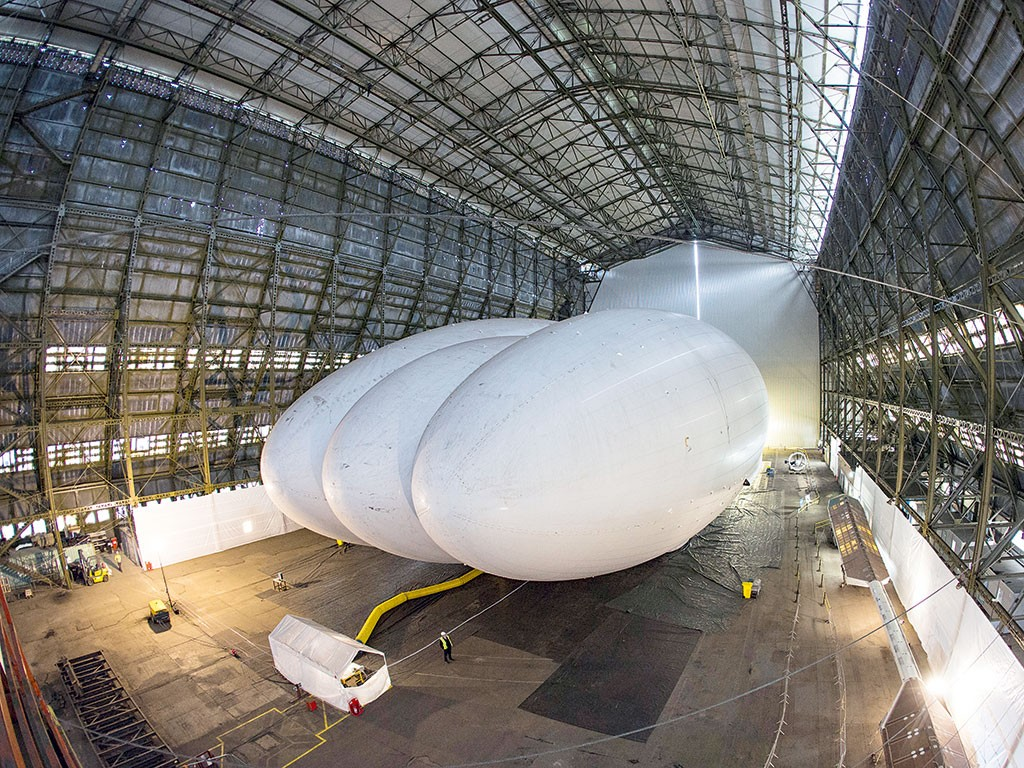 A British design firm has big plans for its latest project. Out of fashion for 80 years, the airship could be about to rise again