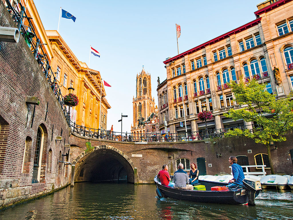 Utrecht is also home to a vast network of historic canals