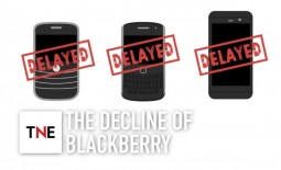 What happened to bring mobile device goliath Blackberry to its knees?