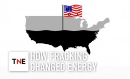 Exploring fracking: how fracking casts a shadow over its own future