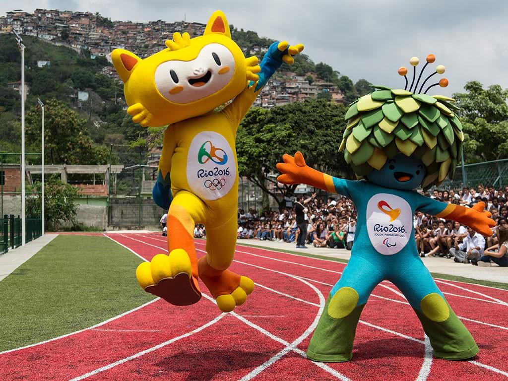 Rio Olympics mascots
