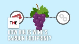 How big is wine's carbon footprint, and how can technology reduce it?