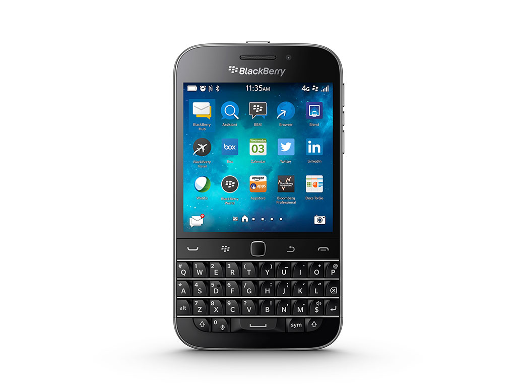 BlackBerry To End Production Of Classic Keyboard Phone – The