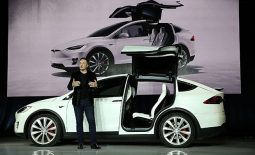 Electric carmaker Tesla are set to equip all new vehicles with self-driving hardware