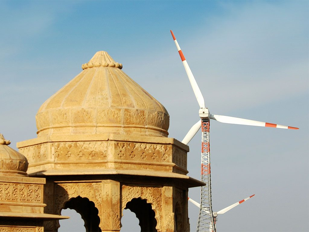 India's Ministry of New and Renewable Energy has announced the addition of 5,400 mW of wind power in the past year