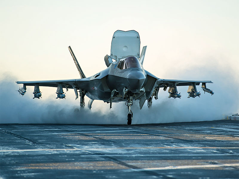 One of the most ambitious and troubled military hardware projects in history, the Lockheed Martin F-35 Lightning II is as spectacular as it is expensive