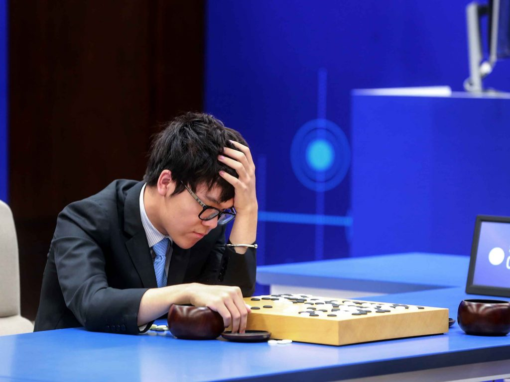 AlphaGo, the AI created by Alphabet's DeepMind, has beaten world champion Ke Jie at the ancient game of Go