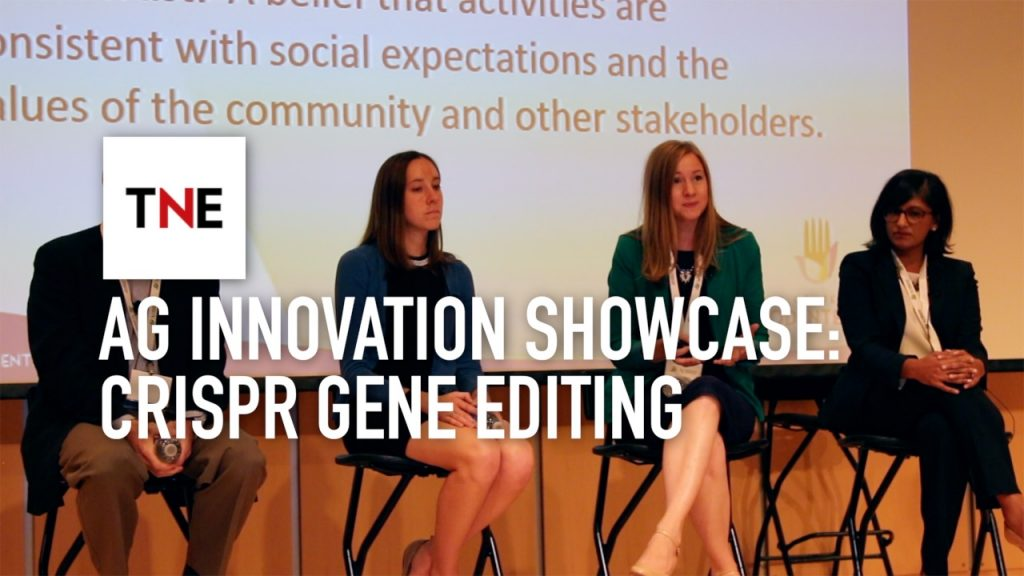 The potential for Crispr-Cas9 to improve the quality and productivity of agriculture was central to the showcase
