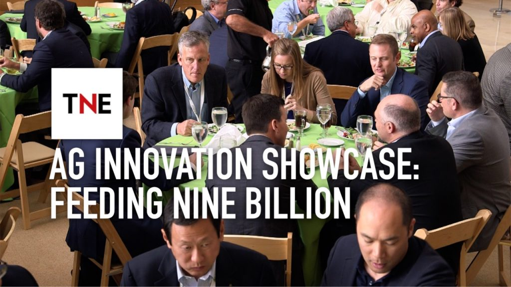 Delegates from the Ag Innovation Showcase discuss the biggest challenge that agriculture must overcome