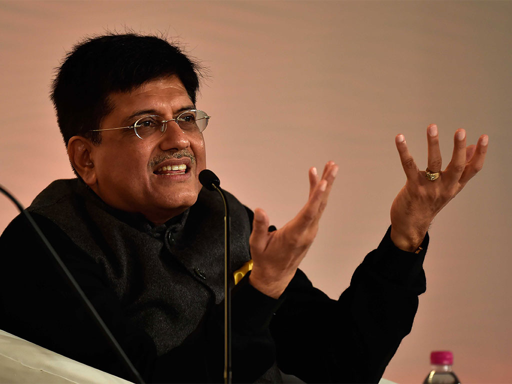 Indian Power Minister Piyush Goyal has shrugged off criticisms of his country's failure to meet energy targets, suggesting blame lies with western economies