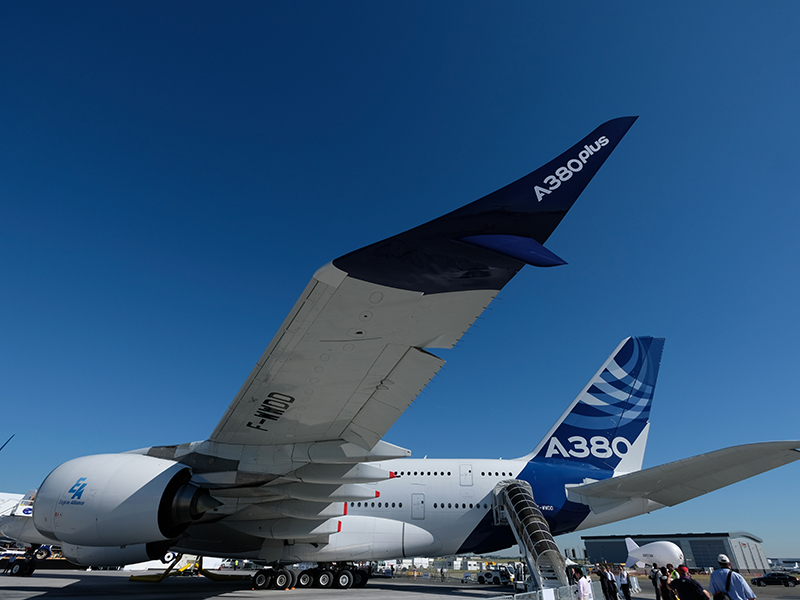 At the Paris Air Show, Boeing and Airbus have lain out starkly different plans for the future of commercial aviation
