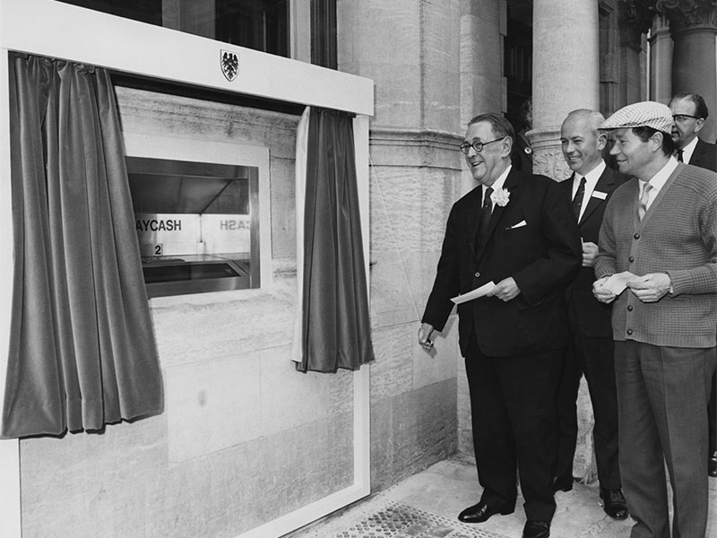 Fifty years ago, the first ATM was unveiled in London, but as people rely less and less on cash, the machine may fill a different role in the future