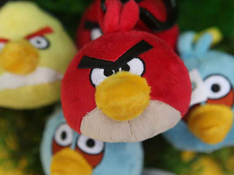 The company behind the smash hit phone game Angry Birds is seeking funds to make new titles