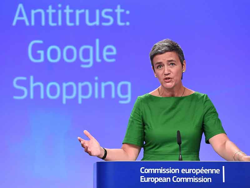 The tech giant has rejected the €2.4bn ($2.87bn) antitrust sanction applied by European regulators in June