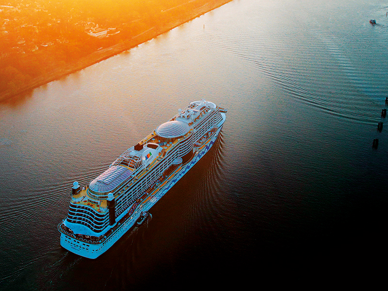 At a time when companies across all sectors are coming under scrutiny for their impact on the environment, the cruise industry is setting sail for an even more sustainable future