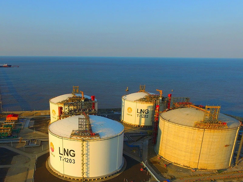New data has revealed China dramatically increased its import of liquid natural gas in 2017, while also ramping up the export of gasoline and diesel