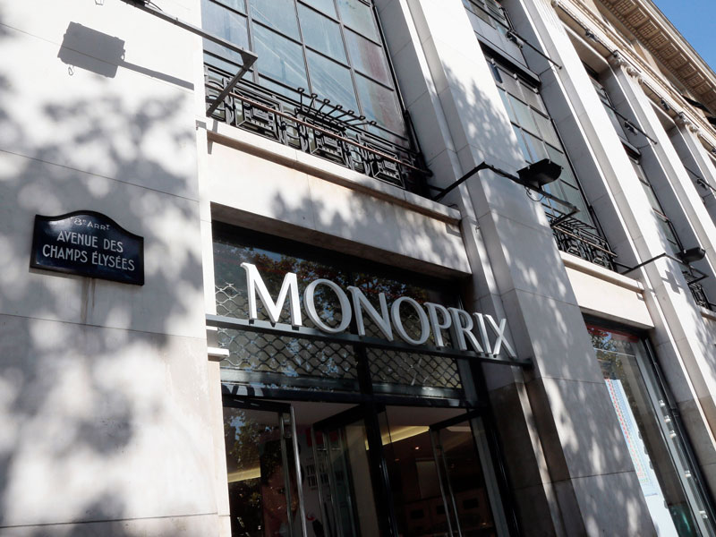 Amazon has secured a partnership with French retailer Monoprix, allowing shoppers to make purchases through the Amazon Prime Now app and a dedicated virtual store