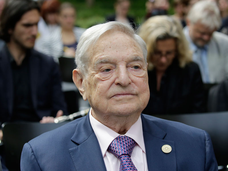 George Soros has frequently used his speech at the World Economic Forum as a platform to denounce those who he sees as opponents to an open society, with China in the firing line this year