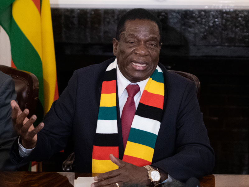 Zimbabwean president Emmerson Mnangagwa, together with the country's three mobile networks, are the target of legal action related to six days of internet blackouts
