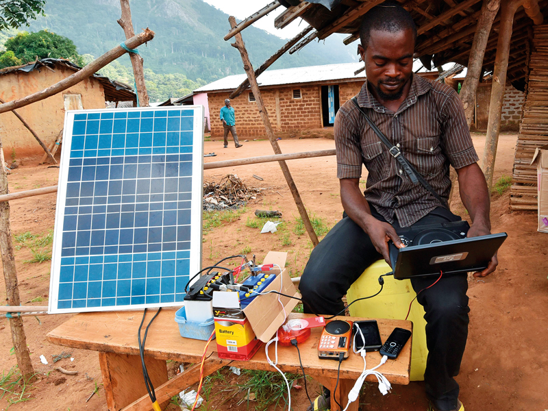 Solar energy isn't only beneficial to the environment – it also has the power to improve living standards across Africa