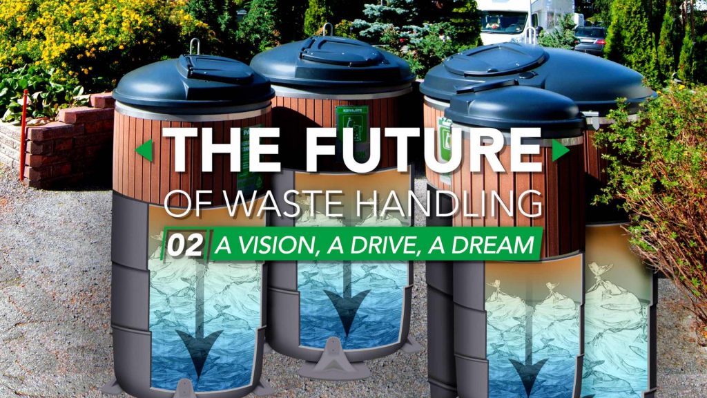 In part two of our video series with Molok North America, we meet the original innovators of Molok's semi-underground waste management system