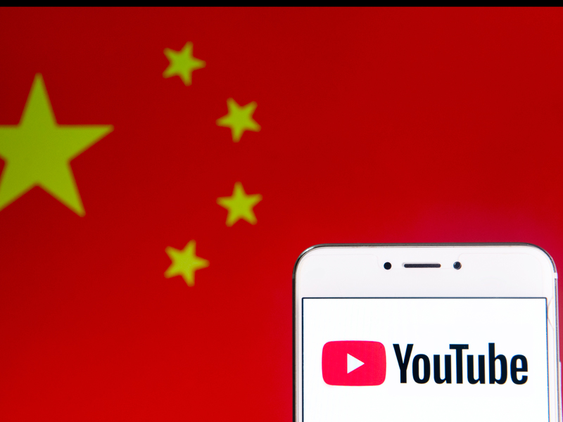 The video-streaming giant has disabled 210 channels involved in a coordinated campaign to promote discord among Hong Kong protestors