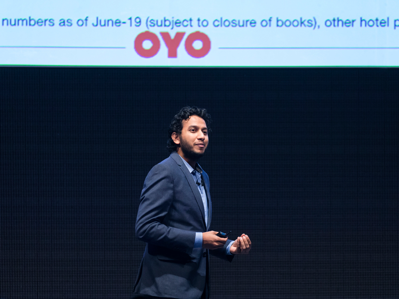 Oyo Rooms, one of the world's largest hotel chains, has raised $1.5bn in its latest financing efforts, bringing its valuation up to $10bn