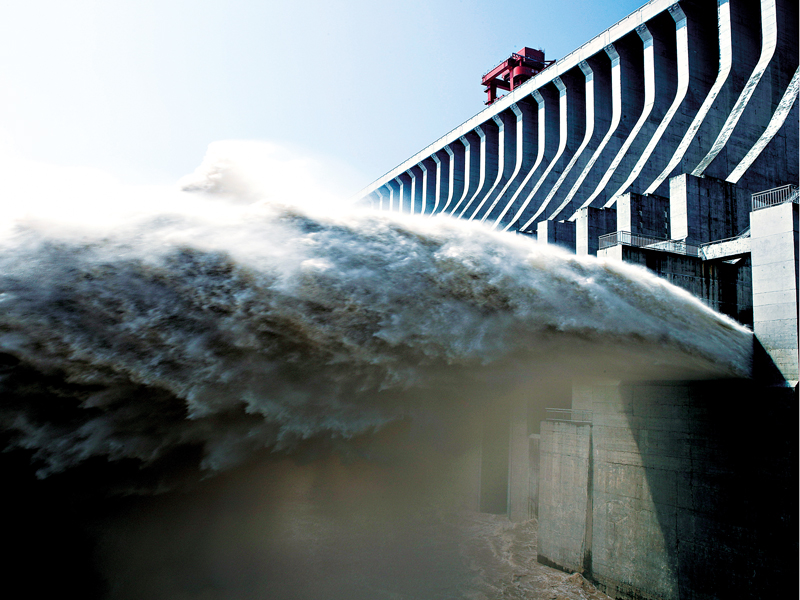 China's Three Gorges Dam, a project so large it has affected the speed of the Earth's rotation, is capable of generating huge quantities of renewable energy. It has also caused social and environmental disruption to the local area