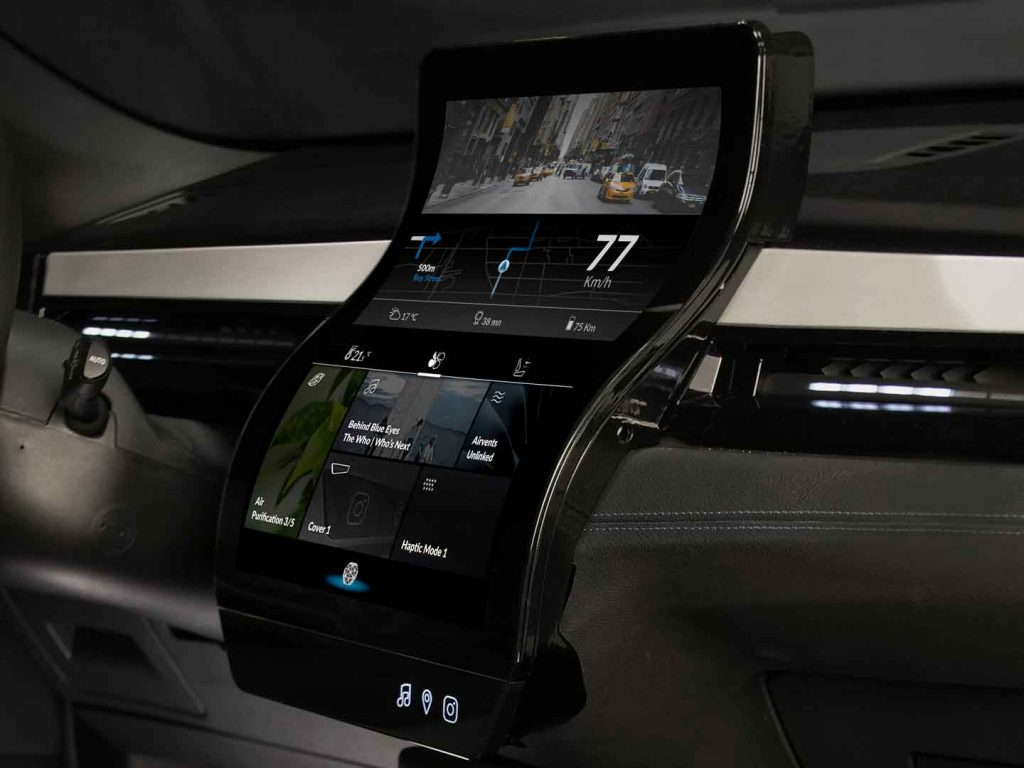 Organic liquid crystal display technology is behind a new kind of flexible display that is set to enhance the consumer experience in the home, the car and in public