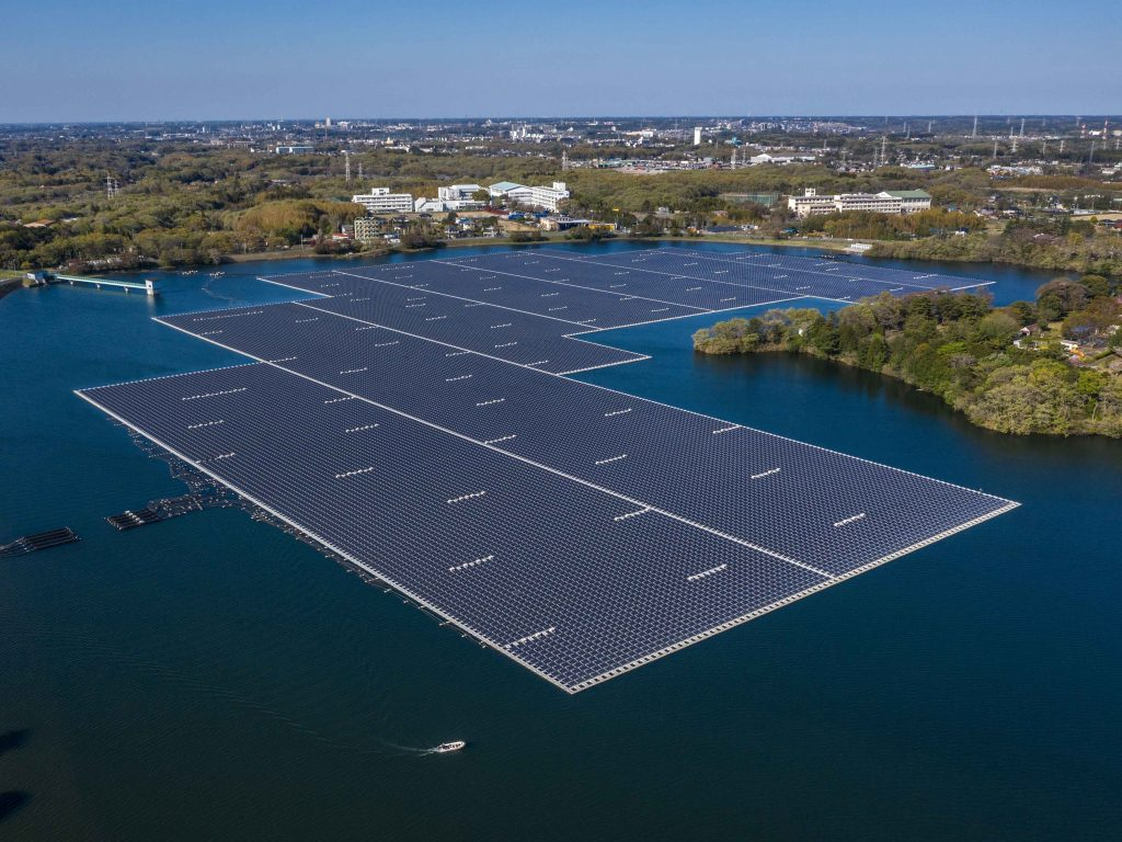 The island of Nurai in Abu Dhabi has recently installed a floating solar power plant that is set to have a capacity of 80 kilowatts