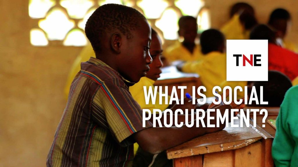 SAP's Adaire Fox-Martin explains how social procurement could have orders of magnitude greater impact than corporate social responsibility programmes